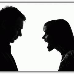 Сильная рассорка на мужа и жену - как не навредить?