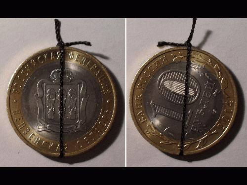 Как сделать амулет из монет