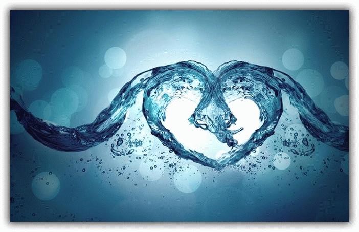 любовь и вода