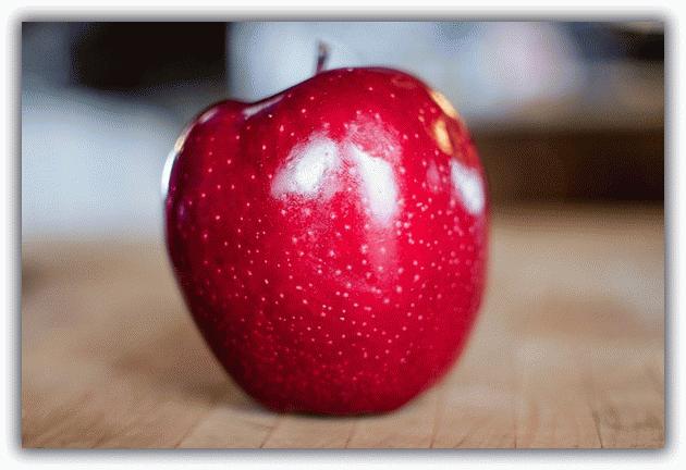 очищающий заговор от болезней на яблоко