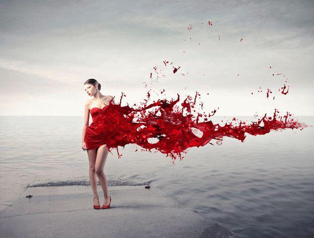 К чему снится менструационная кровь?