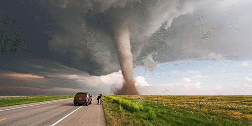 К чему снится смерч или торнадо?