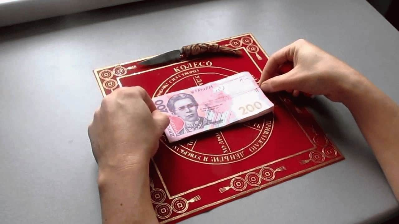 спираль для привлечения денег из проволоки