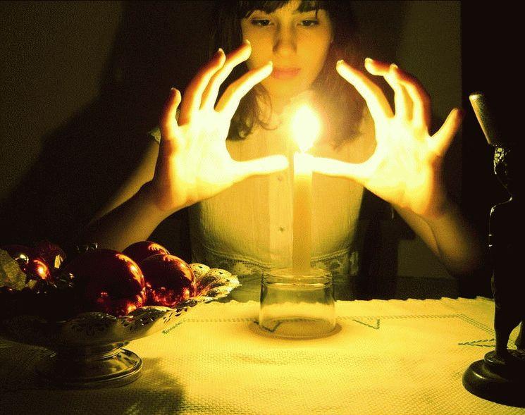 Магический ритуал приворота