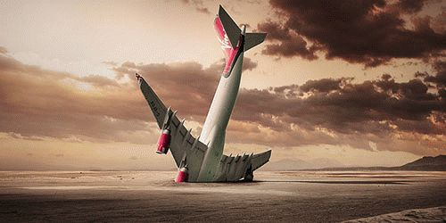К чему снится падение самолета?