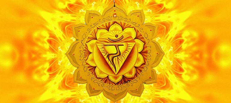 символ чакры Манипура