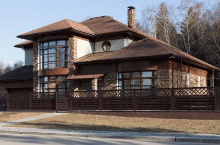 большой новый дом