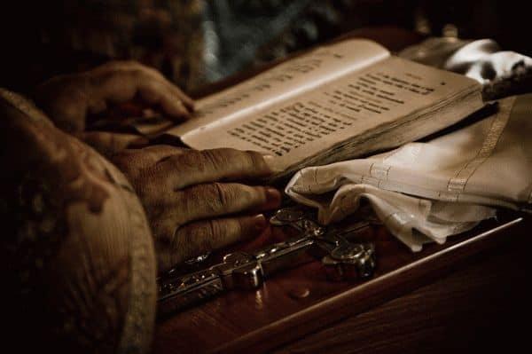 молитвенный обряд монахов
