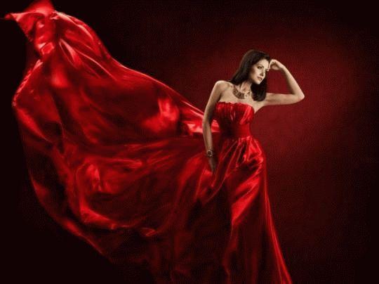 Снится покупать красное платье