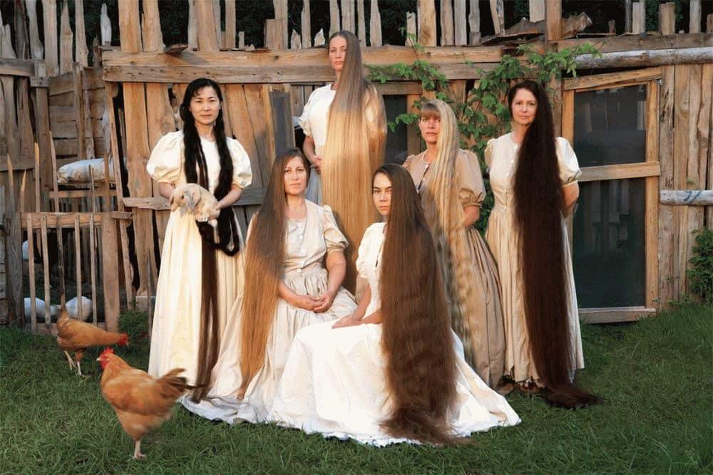 Сонник видеть длинные волосы на девушке