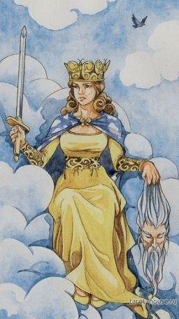карта Королева Мечей