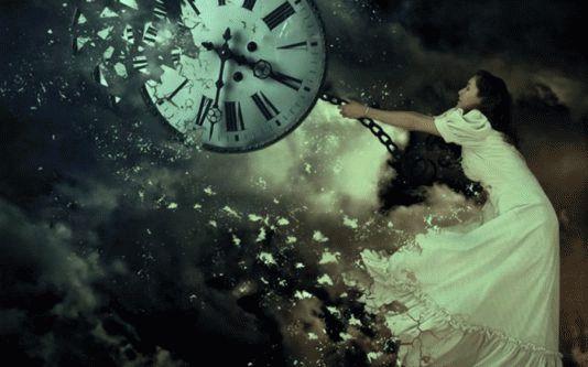 отпустите прошлое и не гонитесь за будущим