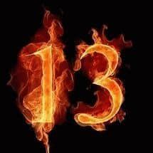 Число 13 - значение в нумерологии