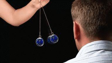 как ввести человека в гипноз