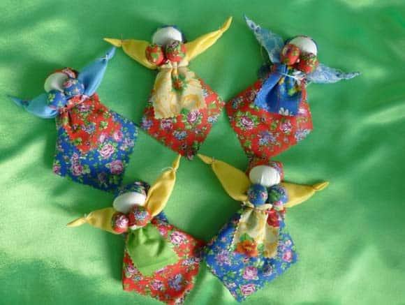 Куклы обереги своими руками - пошаговая инструкция