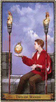 2 Посохов Волшебное Таро