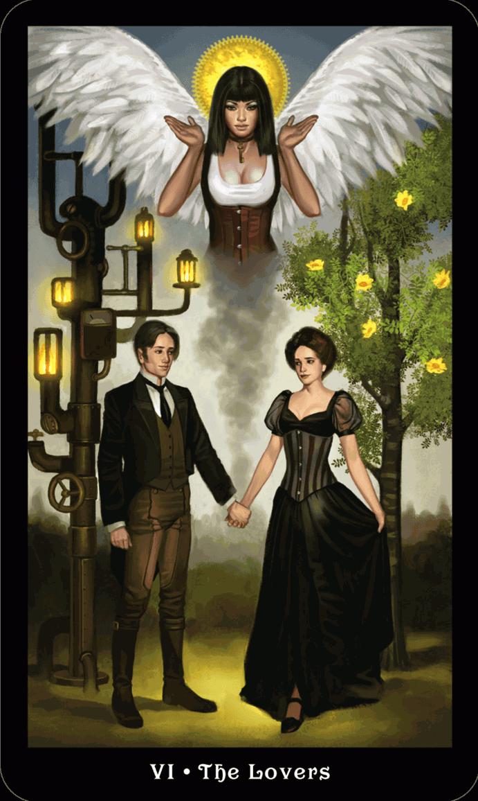 Влюбленные Викторианское Таро