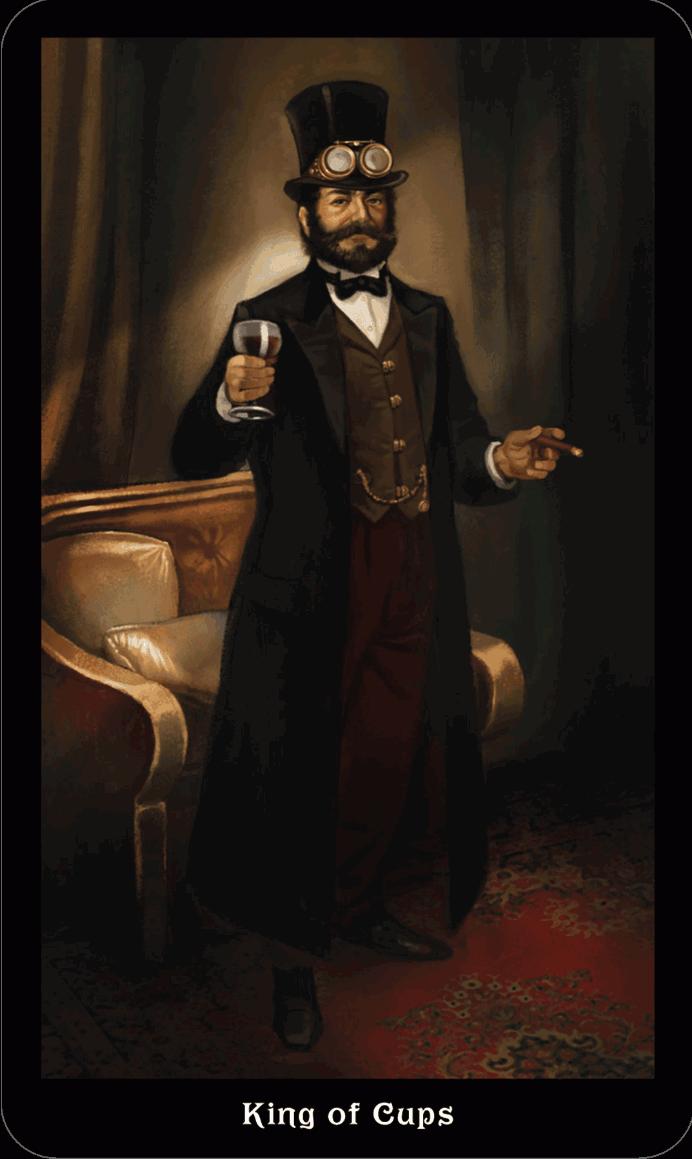 Король Кубков Викторианское Таро