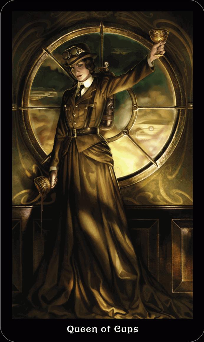 Королева Кубков Викторианское Таро