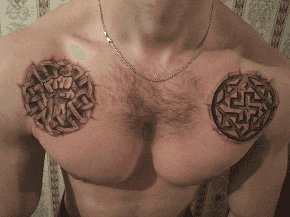 Тату обереги для мужчин и девушек: значение самых сильных символов