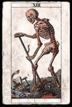 Карта Смерть Таро - значение 13-го аркана