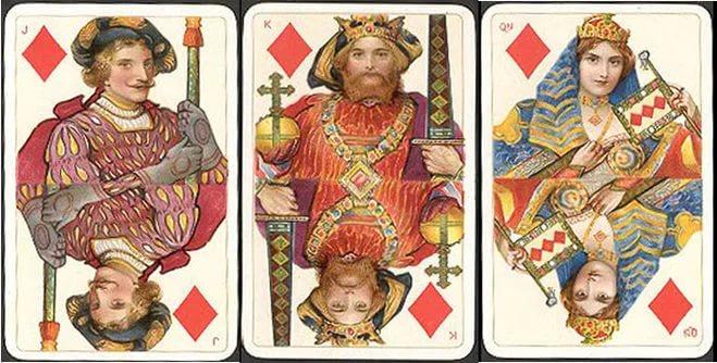 Валет, Король и Дама