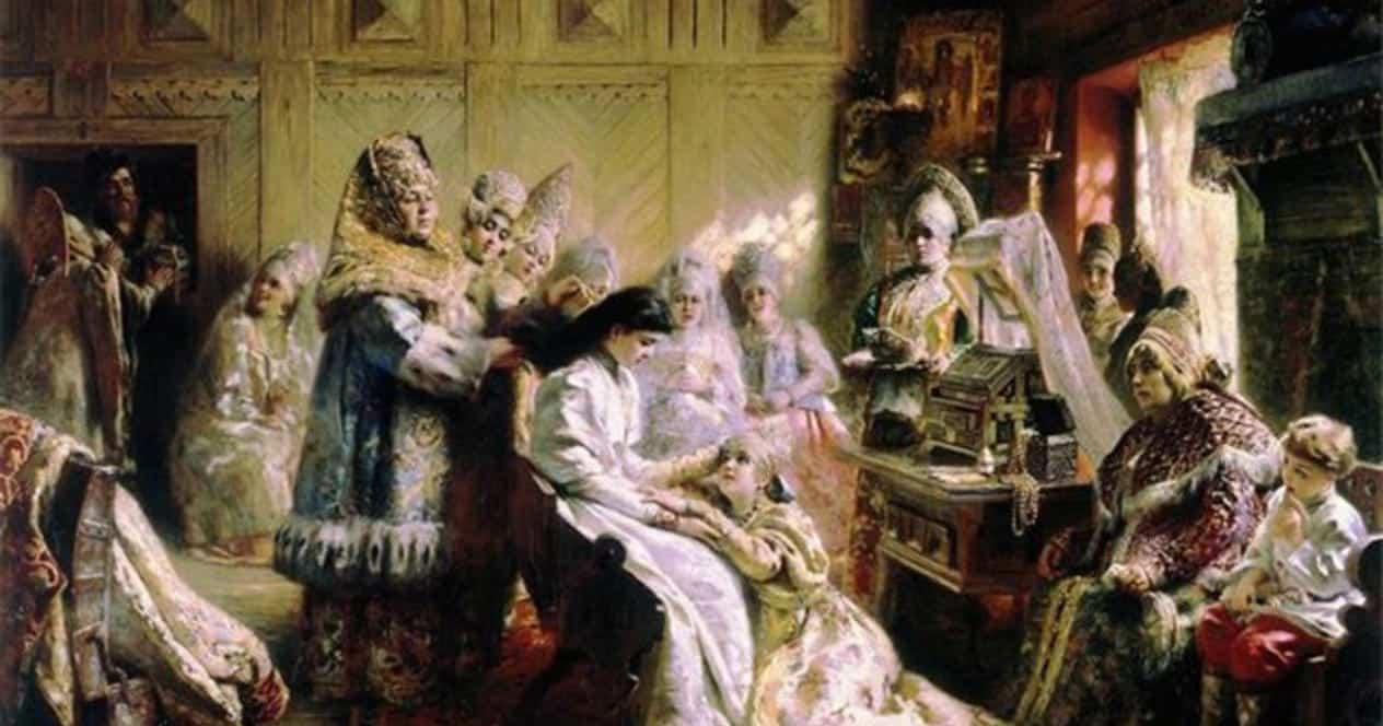 М. Забылин. Свадебные обряды и обычаи на Руси