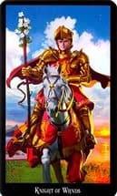 жезлов рыцарь таро