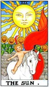 аркан Солнце Таро
