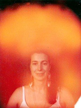 оранжевая аура фото