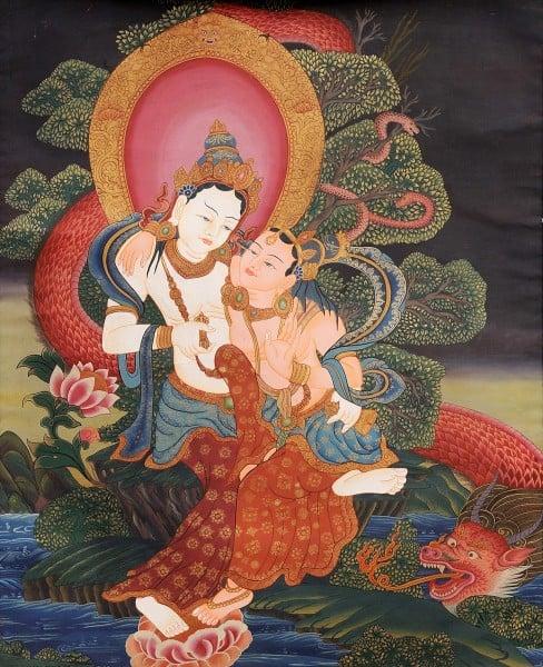 Практика мантры - стослоговая мантра Ваджрасаттвы