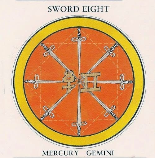 восьмерка мечей значение таро