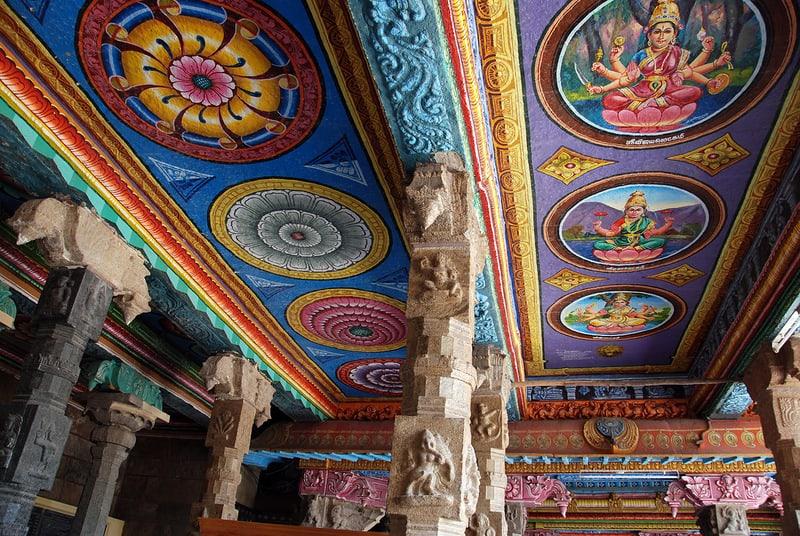 мандалы в храме