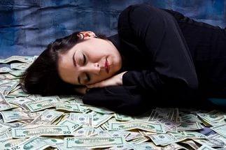 Сон на купюрах