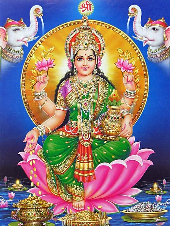 Mantra of wealth and prosperity to the goddess Lakshmi | s-su pw