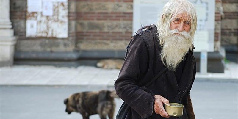 Дед бездомный