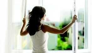 Открываем окно