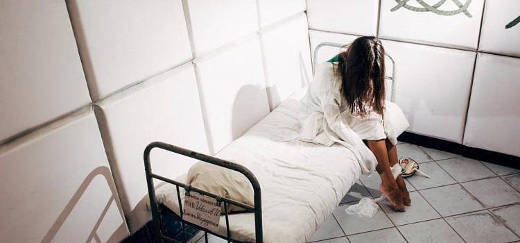 На больничной койке