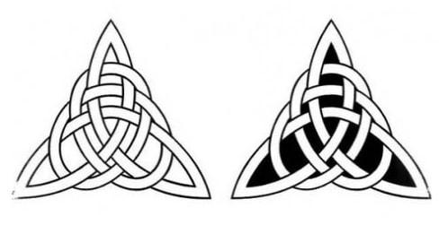 кельтский узор лабиринт