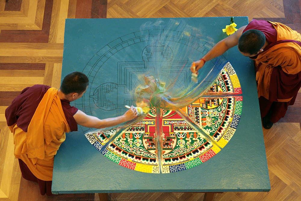 мандалы тибета