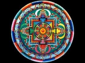 Тибетская мандала: мастер-класс по созданию, советы и особенности