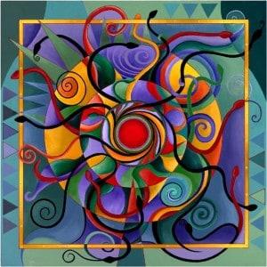 значение цветов в мандале
