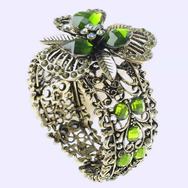 кольцо с оливином