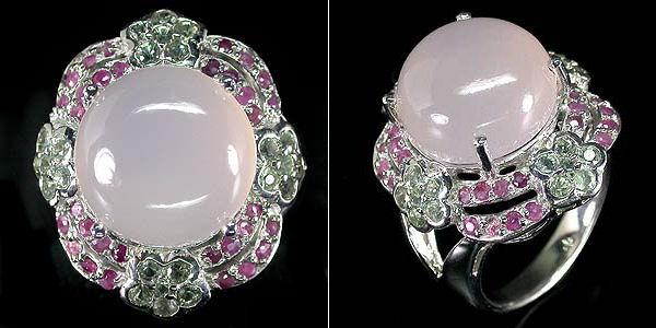 кольцо с халцедоном фото