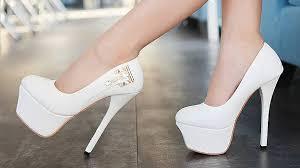 Белые туфли