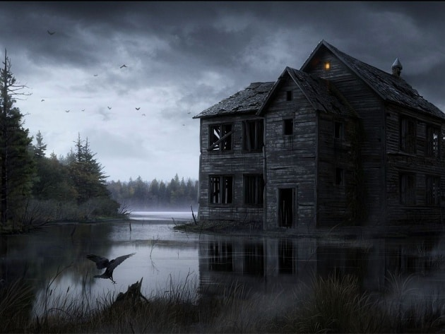 Дом у болота