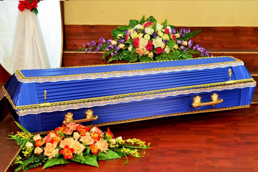 Синий гроб