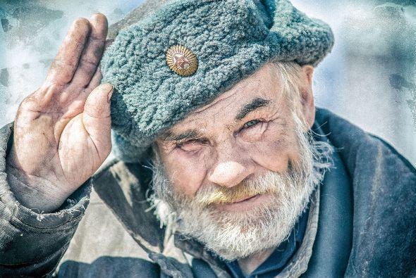 Дед в шапке