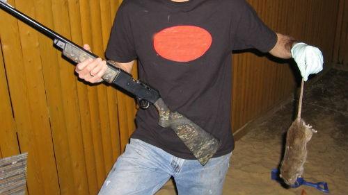 Мужик с оружием