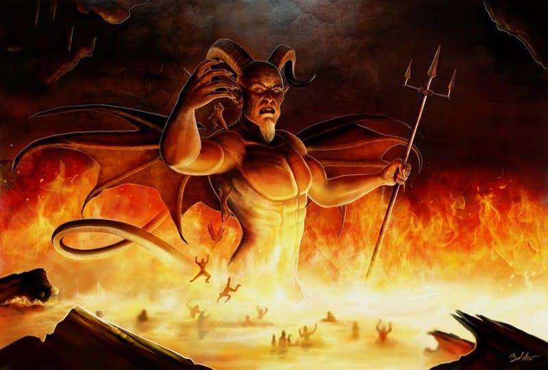 Дьявол в огне
